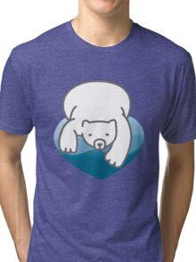 Polar Heart Tri-blend T-Shirt