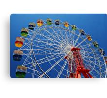 Ferris Wheel Colour Canvas Print