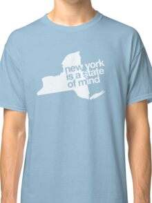 New York is a state of mind - Big - White Classic T-Shirt
