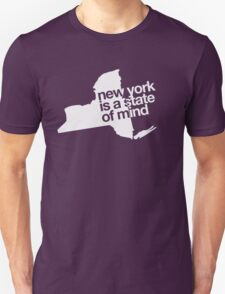 New York is a state of mind - Big - White T-Shirt