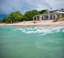 The Beach House, Chintheche, Malawi by Tim Cowley