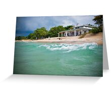 The Beach House, Chintheche, Malawi Greeting Card
