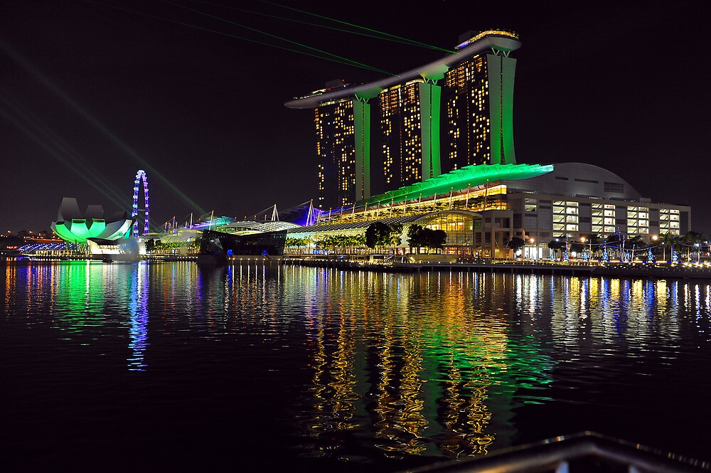 The Sands Marina Bay. Singapore. by Ralph de Zilva