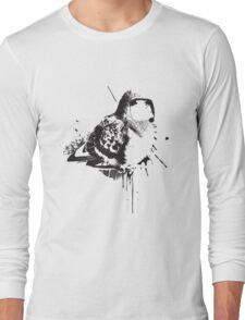 Birdy Bird Tv Screen Face Long Sleeve T-Shirt