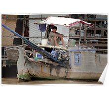 Trawler Mekong Delta 9. Poster