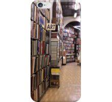 Book Shop in Barcelona iPhone Case/Skin