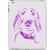 WWWD? Willow, Long Haired Weimaraner : Light iPad Case/Skin