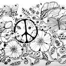 PEACE/CND by Gea Jones