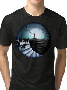 My Part to the Longest Illustration. Tri-blend T-Shirt
