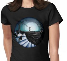 My Part to the Longest Illustration. Womens Fitted T-Shirt