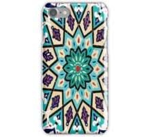 Powder Blue Persian Mosaic Design iPhone Case/Skin