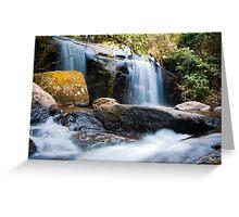 Waterfall at Zomba Plateau, Malawi Greeting Card