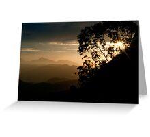 Zomba Sunset Greeting Card