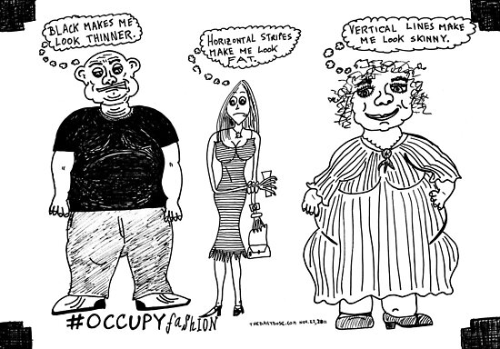 Occupy Fashion culture cartoon by bubbleicious