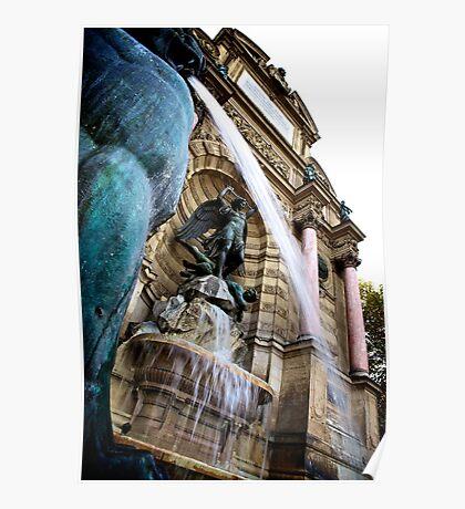 Left Bank, Paris Poster