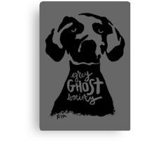 Grey Ghost Society : Original Canvas Print