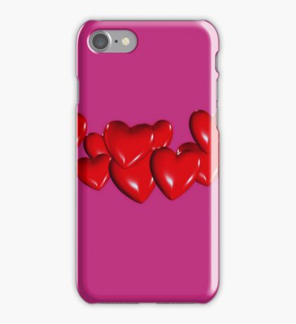String of Hearts iphone case iPhone Case/Skin