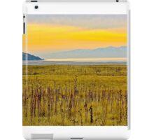 Sunset On The Great Salt Lake iPad Case/Skin