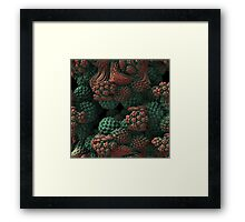 In the Dimly-lit Undergrowth Framed Print