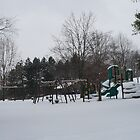Play ground having a winters rest.  by buster3