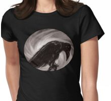Dream the crow black dream. Womens Fitted T-Shirt