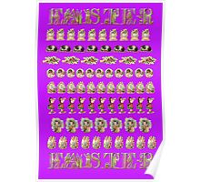 Easter Decoupage Paper Poster