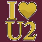I Heart U 2 (Yellow) by Stephen Mitchell