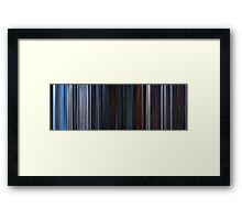 Moviebarcode: Star Wars: Episode V - The Empire Strikes Back (1980) Framed Print