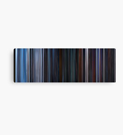 Moviebarcode: Star Wars: Episode V - The Empire Strikes Back (1980) Canvas Print