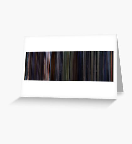 Moviebarcode: Star Wars: Episode VI - Return of the Jedi (1983) Greeting Card