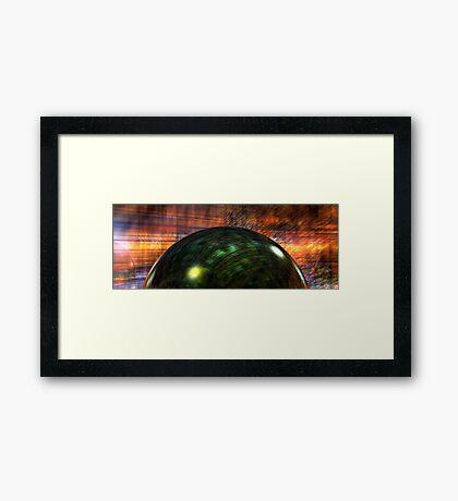 CaracoruNimbus Framed Print