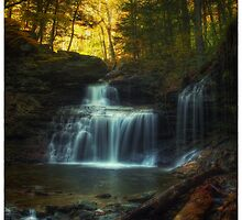 R.B. Ricketts Falls (version IV) Oct 2011 by Aaron Campbell