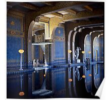 Hearst Castle San Simeon California Poster