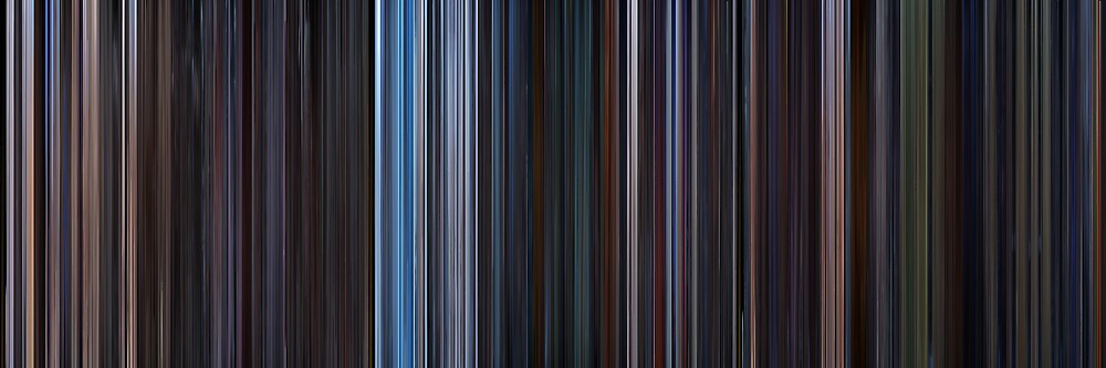 Moviebarcode: Star Wars: Original Trilogy (1977-1983) by moviebarcode