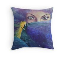 "...and the past it's just the beginning...from ""Impossible love"" series Throw Pillow"