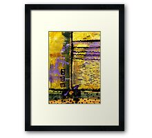 Traveling HOME to Michigan Framed Print