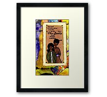 True Friends Framed Print