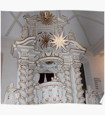 Protestant Altar Poster