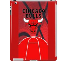 Chicago Bulls Logo Basketball NBA iPad Case/Skin