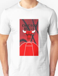 Chicago Bulls Logo Basketball NBA T-Shirt