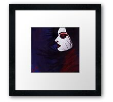 Sunk deep in the night...  Framed Print