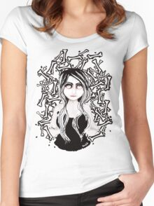 BONE ☠ COLLECTOR Women's Fitted Scoop T-Shirt