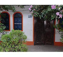 Typical house of the tropical zone - Casa típica para la zona tropical Photographic Print
