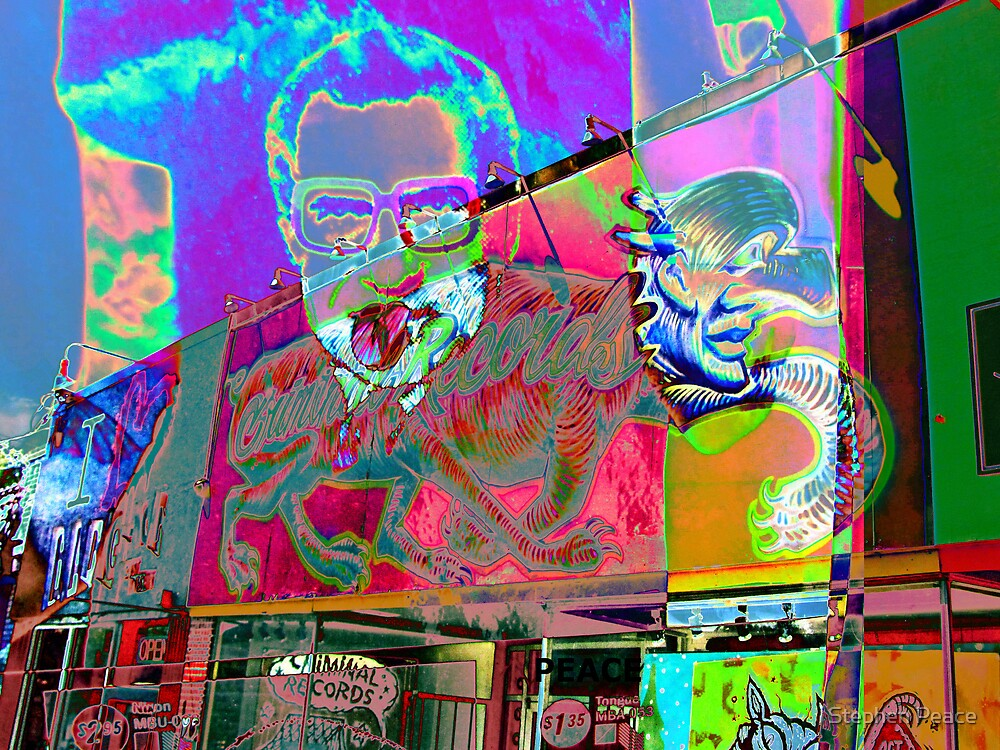Psychedelic Nixon by Stephen Peace