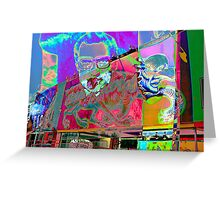 Psychedelic Nixon Greeting Card