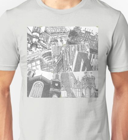 Collage Albany NY Historic District Unisex T-Shirt