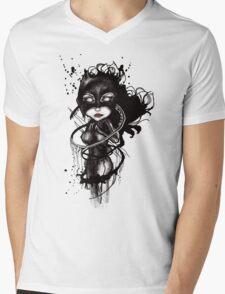 Claw Lynx Mens V-Neck T-Shirt