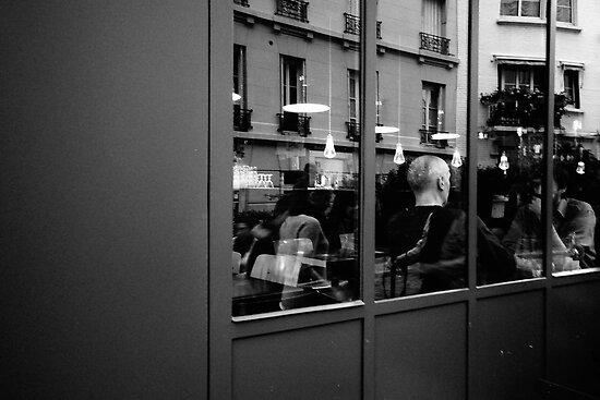Brasserie en Montmartre by Peppedam