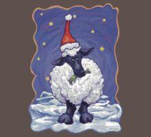 Sheep Christmas One Piece - Short Sleeve