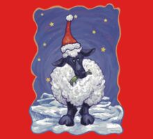 Sheep Christmas One Piece - Short Sleeve